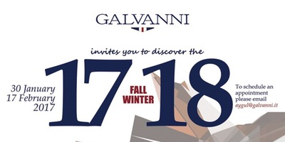 Discover the new GALVANNI Fall Winter 17/18 collection Etkinlik Afişi