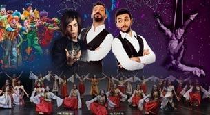 Uluslararası Galaxy Circus Etkinlik Afişi