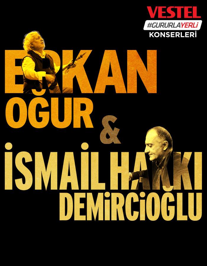 Erkan Oğur & İsmail Hakkı Demircioğlu Etkinlik Afişi