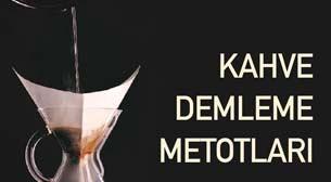 Kahve Demleme Metotları Etkinlik Afişi