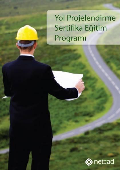Netcad Yol Projelendirme Sertifika Programı Etkinlik Afişi