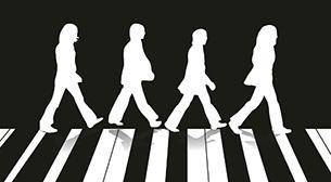 The Beatles Resitali Etkinlik Afişi