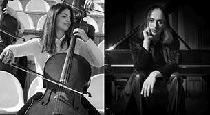 Zeynep Yamaner & Misha Dacic Viyolonsel ve Piyano Resitali Etkinlik Afişi