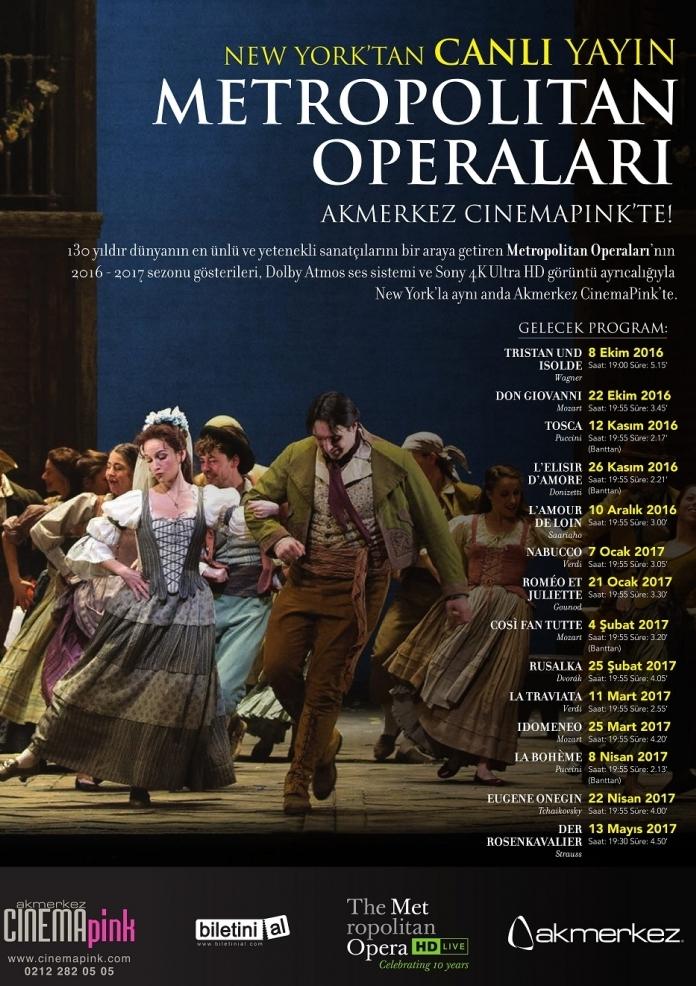 La Traviata Etkinlik Afişi