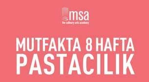 MSA-Mutfakta 8 Hafta-Pastacılık Etkinlik Afişi