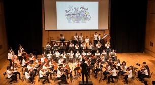 Neşeli Pazarlar-Barış İçin Müzik Orkestrası Etkinlik Afişi