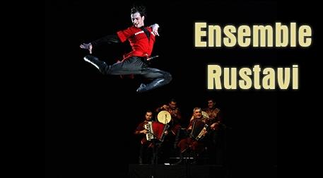 Ensemble Rustavi - Gürcistan Devlet Halk Dansları Etkinlik Afişi