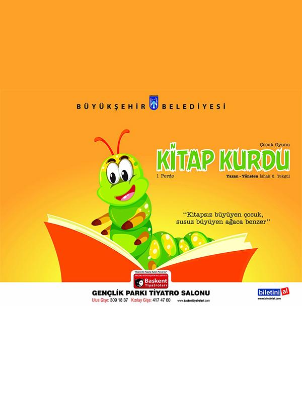 Kitap Kurdu Etkinlik Afişi