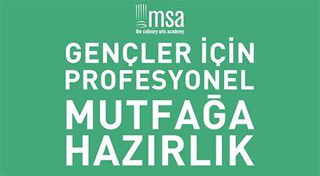 MSA-Gençler için Profesyonel Mutfağa Hazırlık  Etkinlik Afişi