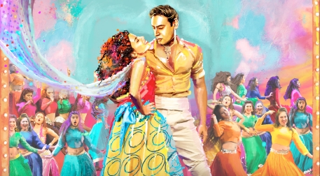 Taj Express - Bollywood Müzikali Etkinlik Afişi