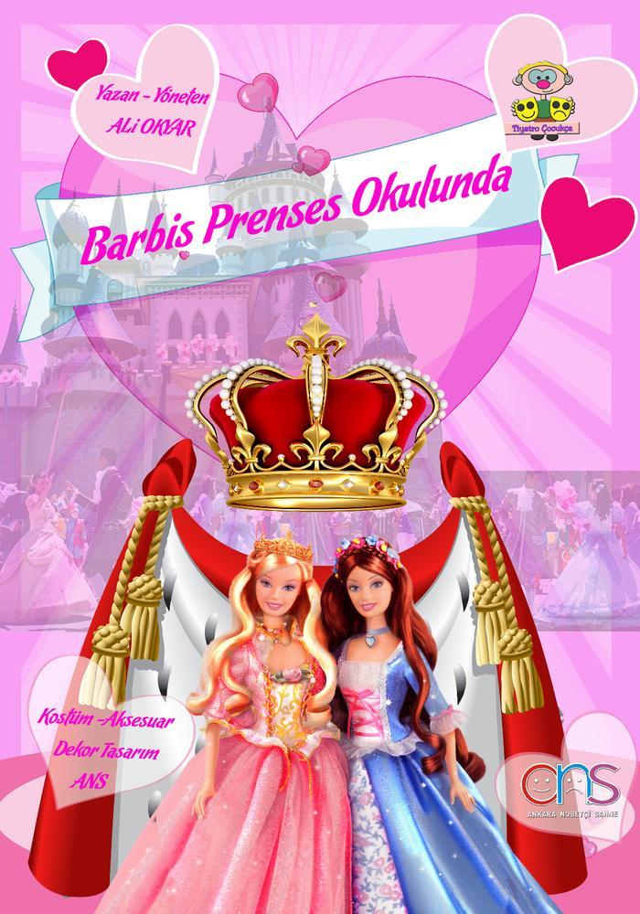 Barbiş Prenses Okulunda Etkinlik Afişi