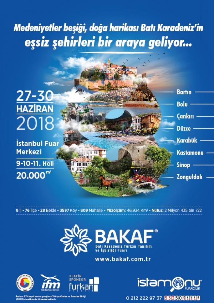 Batı Karadeniz Turizm Tanıtım ve İşbirliği Fuarı Etkinlik Afişi