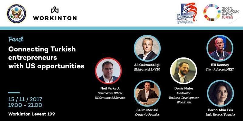 Connecting Turkish Entrepreneurs With US Opportunities Etkinlik Afişi