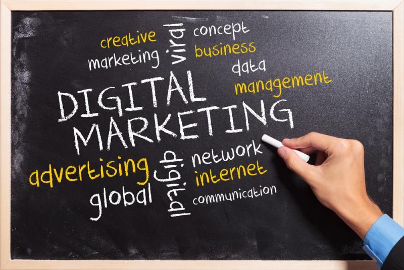 Dijital Pazarlama Eğitimi Etkinlik Afişi