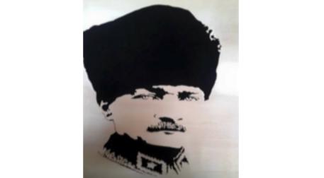 Tuval Boyama Atatürk