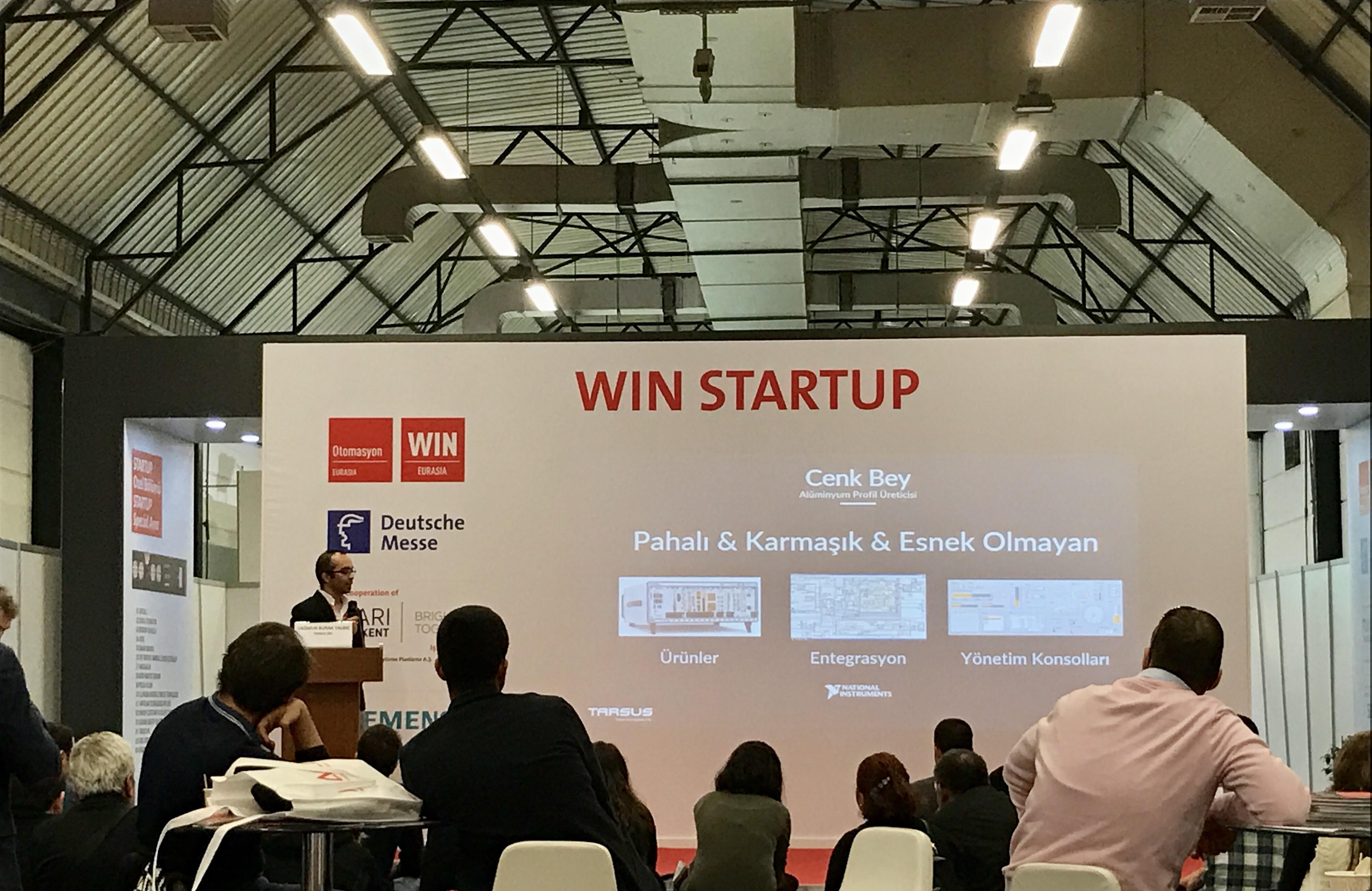 WIN Eurasia Startup Special Area Etkinlik Afişi