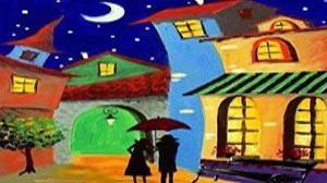 Masterpiece İzmir Resim - Renkli Rüyalar Aleminde Etkinlik Afişi