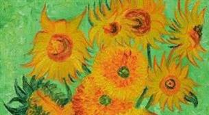 Masterpiece İzmir Resim - Van Gogh - Ayçiçekleri Etkinlik Afişi