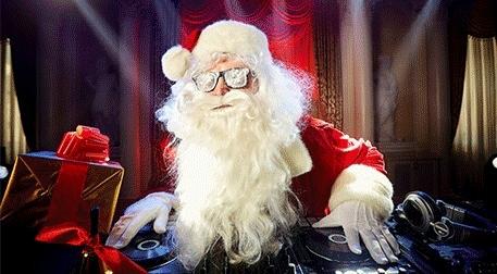 Secret Santa Hediye Partisi Etkinlik Afişi