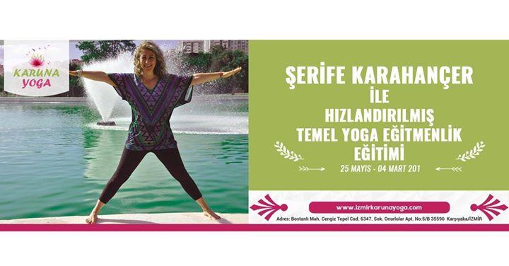 Şerife Karahançer ile Hızlandırılmış Temel Yoga Eğitimi Etkinlik Afişi