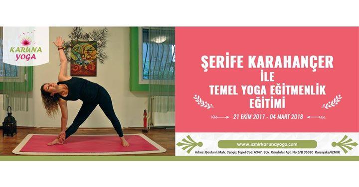 Şerife Karahançer ile Temel Yoga Eğitimi Etkinlik Afişi