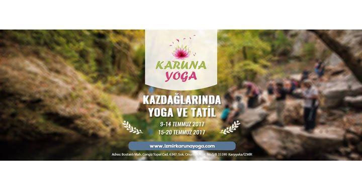 Kazdağlarında Yoga ve Tatil Etkinlik Afişi