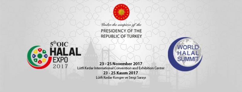 5th OIC  Halal Expo ( 5.İslam İşbirliği Teşkilatı Helal Fuarı) Etkinlik Afişi