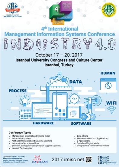 4. Uluslararası Yönetim Bilişim Sistemleri Konferansı Etkinlik Afişi