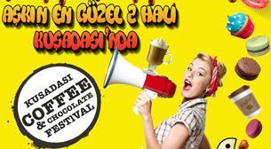 Kuşadası Kahve ve Çikolata Festivali 1.Gün Etkinlik Afişi