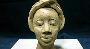 Masterpiece Heykel - Afrika Etkinlik Afişi