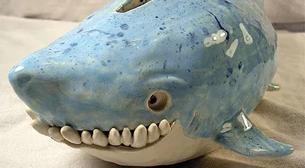 Masterpiece Heykel - Köpekbalığı Etkinlik Afişi
