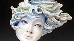 Masterpiece Heykel -Rüzgarda Portre Etkinlik Afişi