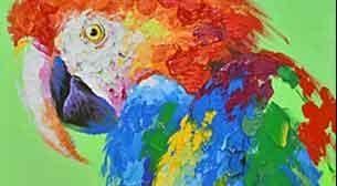 Masterpiece - Papağan Etkinlik Afişi
