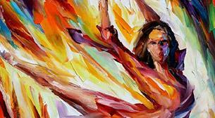 Masterpiece - Renklerle Dans Etkinlik Afişi