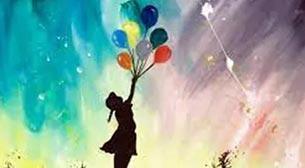 Masterpiece Resim - Banksy - Balonlar Etkinlik Afişi