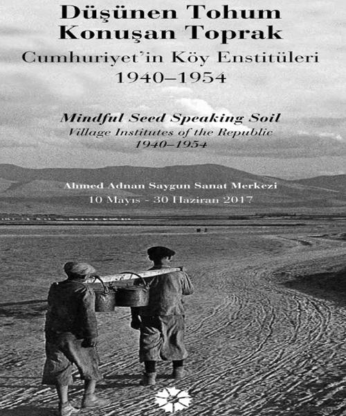 Pera Müzesi & İstanbul Araş. Enst. & İsmail Hakkı Tonguç Vak. / Düşünen Tohum, Konuşan Toprak Etkinlik Afişi