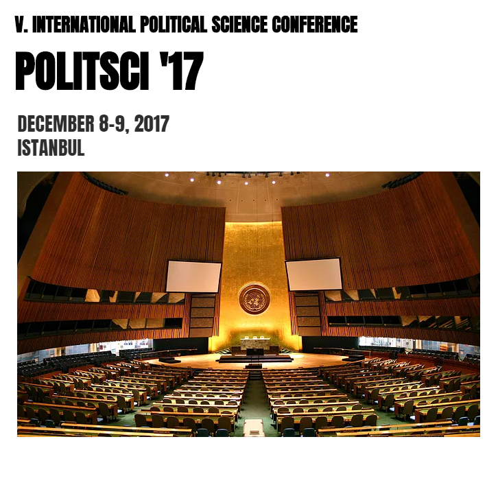 POLITSCI '17 / V. International Political Science Conference Etkinlik Afişi