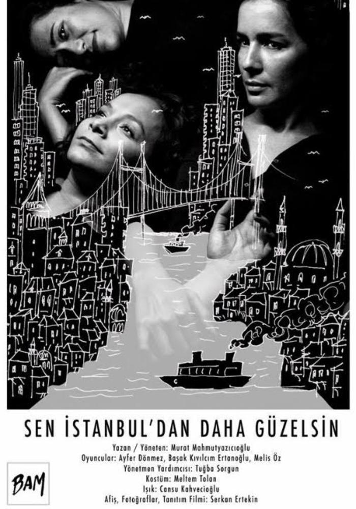Sen İstanbul'dan Daha Güzelsin- BAM Etkinlik Afişi