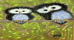 Yağlı Boya Workshop Baykuş Etkinlik Afişi