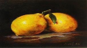 Yağlı Boya Workshop Tatlı Limon Etkinlik Afişi