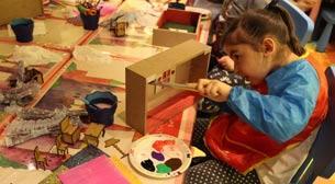 9 - 12 Yaş Hayallerle Dolu Küçük Evler Etkinlik Afişi