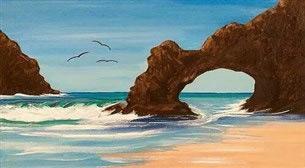 Masterpiece - Etretat Kayalıkları Etkinlik Afişi