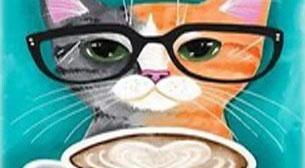 Masterpiece - Gözlüklü Kedi Etkinlik Afişi