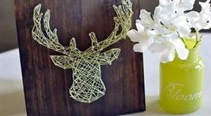 Masterpiece String Art - Geyik Etkinlik Afişi