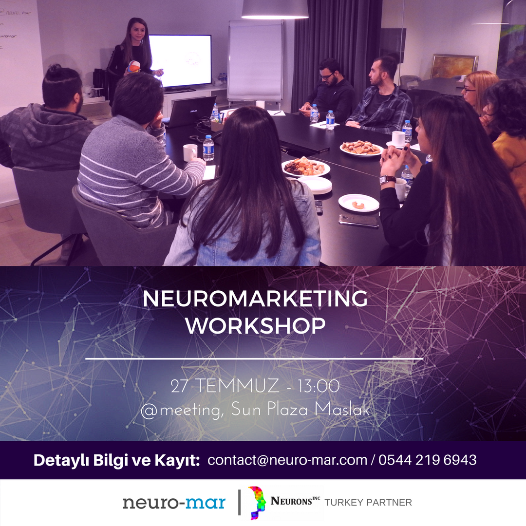 Neuromarketing Workshop Etkinlik Afişi