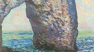 Masterpiece - Claude Monet - Etretat Kayalıkları Etkinlik Afişi