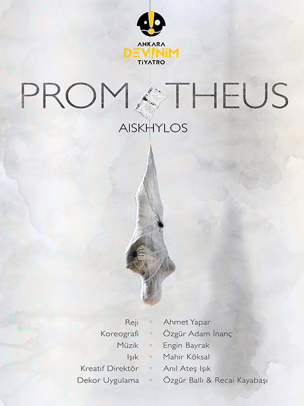 Zincire Vurulmuş Prometheus Etkinlik Afişi