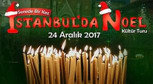 İstanbul'da Noel Zamanı Etkinlik Afişi
