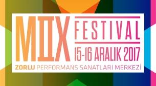 MIX Festival-Kombine Etkinlik Afişi