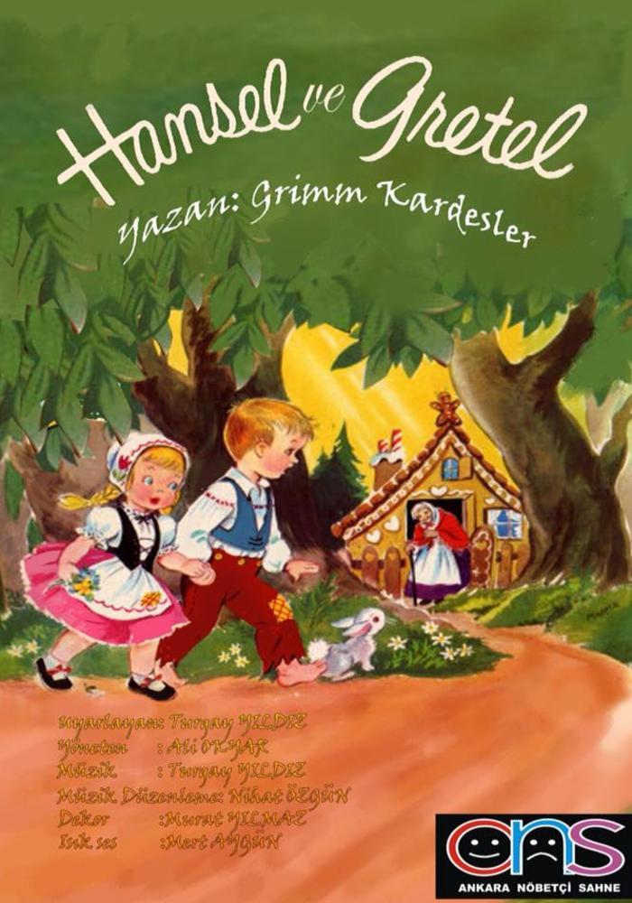 Hansel ile Gretel Etkinlik Afişi